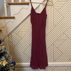 Forever 21 Button Down Midi Dress